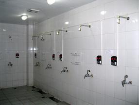 浴室IC卡水控机,智能卡水控机 洗澡刷卡收费水控机