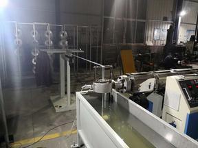 PP纤维一出二打包带生产线设备