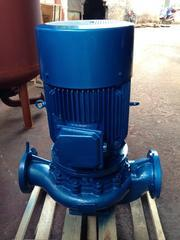 ISG立式热水循环泵 不锈钢冷却水增压管道泵 离心泵
