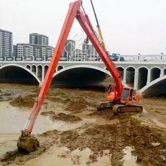 小松210挖掘机加长臂厂家定做18米加长臂