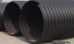 成都市抗压力、耐腐蚀HDPE钢带增强螺旋波纹排水管 厂家直售,发往全国