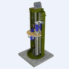 厂家直供,【洁夫森】GRP地理式雨污水提升预制一体化泵站