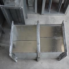 镀锌风管 共板法兰德国法兰角铁法兰焊接管