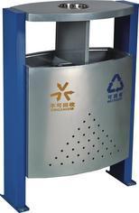 宁夏固原小区公园广场环保分类垃圾桶制作厂家