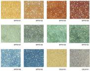 广东深圳卷材PVC胶地板生产厂家   同质透心PVC塑胶地板