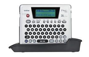 兄弟牌PT-18RZ手持单机连接电脑二维码标签打印机