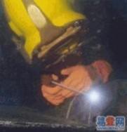 厦门市水下焊接阳极锌块工程潜水作业