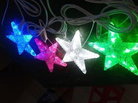 超高亮LED五角星装饰灯