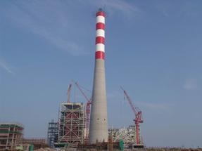 齐齐哈尔供暖站烟囱刷航标色环公司