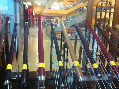 安徽高分子木纹楼梯扶手厂家