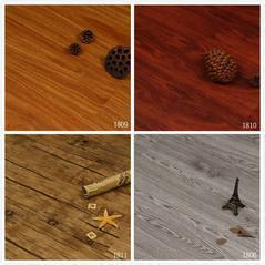 仿古浮雕木纹PVC锁扣地板防水免胶石塑地板