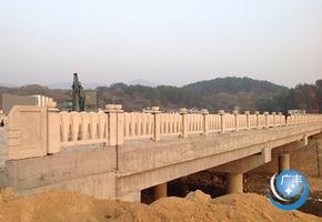 铸造石桥梁护栏