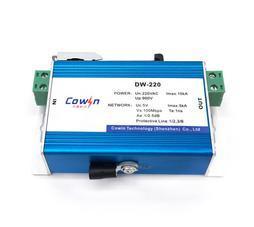 DW-220监控摄像机专用避过雷器220V电源网络二合一防雷器监控