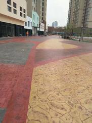 南通高承载路面透水地坪、防滑地面