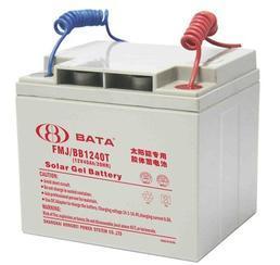 供应上海鸿贝12V40AH太阳能胶体蓄电池