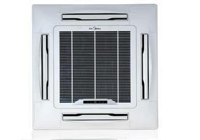 美的嵌入式天花机 大冷霸5P单冷型美的天花空调