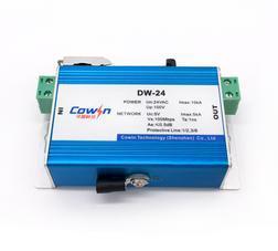 DW-24监控摄像机专用避过雷器24V电源网络二合一防雷器监控防雷