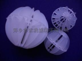 供应聚丙烯多面空心球填料 Φ25pe多面空心球价格