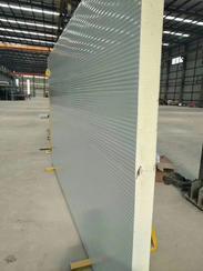 1000型聚氨酯夹芯保温复合墙面板