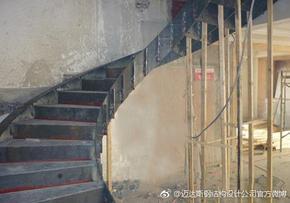 螺旋楼梯钢结构设计