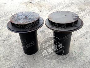 天沟部位铸铁雨漏 4寸PVC管连接铸铁雨水斗