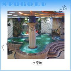 专业设计水疗池/桑拿房/游泳池/SPA/干蒸房/冰蒸房/汗蒸房