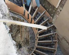 固安別墅現澆夾層閣樓地面硬化改造