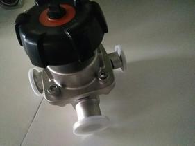 卫生级不锈钢快装隔膜阀