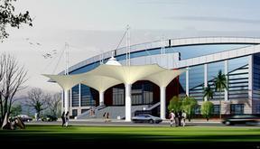 异形钢结构造型,艺术钢结构,帐篷酒店