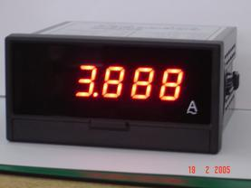 数字电流表、数字电压表
