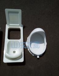 粪尿分集式蹲便器干封农村村厕所改造便器