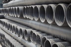 PE中空壁管、中空缠绕管、缠绕管、缠绕管厂家,600缠绕管