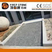 黑色花岗岩小方砖地铺石GCPB768