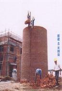 毕节砖烟囱新建公司(锅炉烟筒新建)