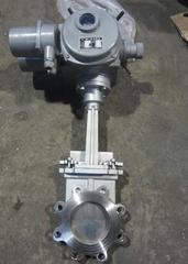 PZ973W-10NR电动高温灰渣闸阀