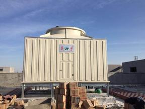 郑州菱宇200吨中央空调方形横流式冷却塔