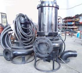 高浓度渣浆泵,铰刀式渣浆泵