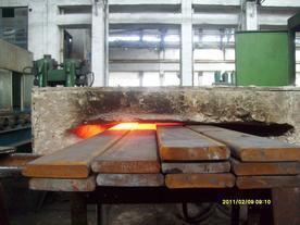 热卖板簧厂加热卷耳设备 弓子板加热折弯电炉