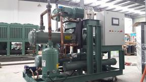 -43℃超低温螺杆式冰水机,格律斯制冷