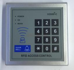 刷卡门禁机/ID密码刷卡机/密码键盘V2000C 智能密码刷卡键盘