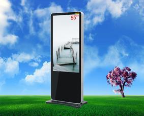 55寸高清落地式廣告機 廣告機廠家 LED高清廣告機 觸摸廣告機