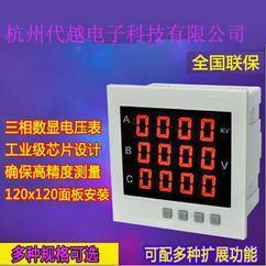 淄博济宁临沂杭州电压表 数显 三相智能 DY-194U-3X4
