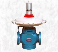 DN100口径燃气减压阀直然式燃气调压器