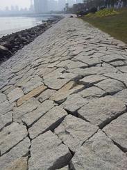 自然面花岗岩护墙石GCCY864