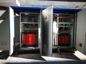 TBBX高压固定无功补偿成套装置设备