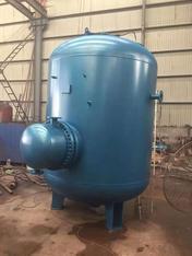 济南张RVH容积式换热器-贮存式换热器-导流型容积式换热器~济南张夏供水换热设备