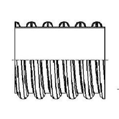 内肋增强聚乙烯(PE)螺旋波纹管