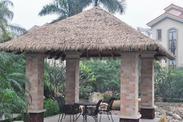 学校屋顶金属人造茅草