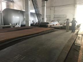 苏州万佳宜钢铁供应链主营首钢Q245R,Q345R容器卷板,3-16mm定尺开平