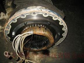 汉钟压缩机机电机维修